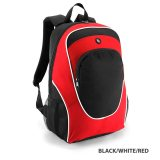 Black/White/rED Gala Backpack Offshore Express