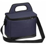 Navy Edge Cooler Bag
