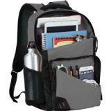 Grey Sideways Rush 15 inch Computer Backpack