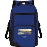 Blue Printed Rush 15 inch Computer Backpack