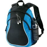 Blue Coil Backpack