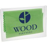 Green Microfiber Cleaning Cloth in Case