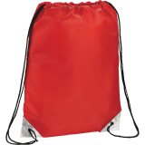 Red Metallic Accent Drawstring Sportspack 09