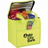 open view decorated The Cube Cooler Bag