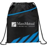 Blue Decorated Flash Drawstring Sportspack