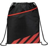 Red Flash Drawstring Sportspack