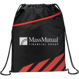 Red Decorated Flash Drawstring Sportspack