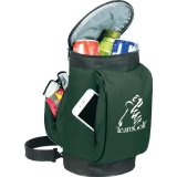 Open View green decorated The Golf Bag Cooler