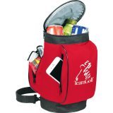 Open View red decorated The Golf Bag Cooler