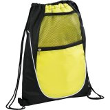 Lime Green The Locker Drawstring Cinch Backpack