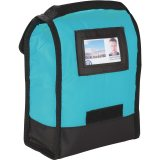 Back View Blue The Undercover Lunch Bag