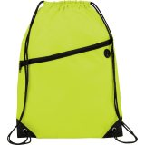 Lime Green The Robin Drawstring Backpack