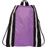 Purpl Reflective Drawstring Cinch Backpack