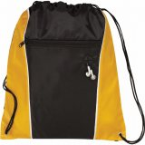 Yellow The Funnel Drawstring Cinch Backpack