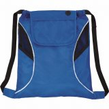 Royal Blue The Bumblebee Drawstring Cinch Backpack