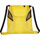 Yellow The Bumblebee Drawstring Cinch Backpack