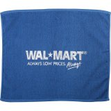 Blue decorated Go Go Rally Towel