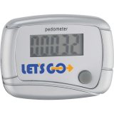 Silver printed In Shape Pedometer