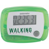 Lime green In Shape Pedometer