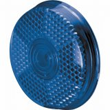 Blue Safety Clip-On Reflector