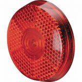 Red Safety Clip-On Reflector