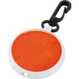 Orange Round Reflector Light