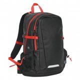 Black/Flame Red Deluge Waterproof BackPack