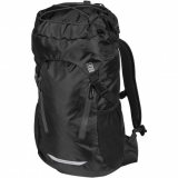 Black/Granite Front View Waterproof Day Pack