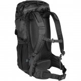 Black/Granite Back View Waterproof Day Pack