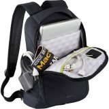 Opened Zoom Power Stretch Compu-Backpack