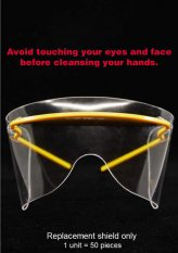 Safety Eye Shield Max Protection Replacement Lens