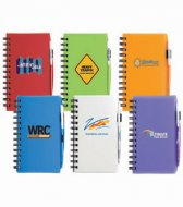 Plastic Cover Notebook Small