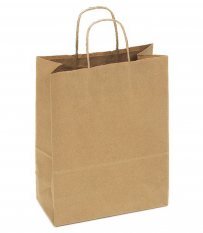 Kraft Paper Bag Brown Medium Includes Twisted Paper Handle