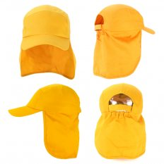 8854f13f5da Kids Poly cotton Legionnaire Cap Sun and Safety Hat Cap and Hat Headwear  Item Vivid Promotions