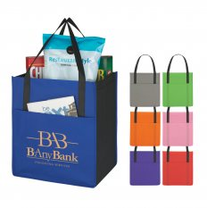 Non-Woven Shopper with Pocket