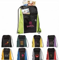 The Funnel Drawstring Cinch Backpack
