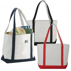 Premium Heavy Weight Cotton Boat Tote Bag