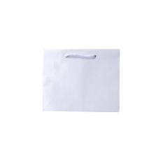 Laminated Gloss Emerald White Paper Bag