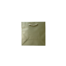 Laminated Matte Petite Metallic Bronze Platinum Bag