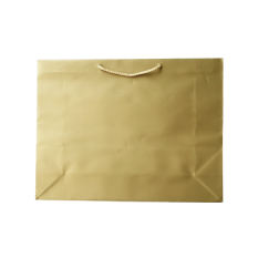 Laminated Matte Ruby Gold Paper Bag