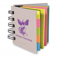 Spiral Book with Noteflags (Stock)