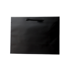 Laminated Matte Ruby Black Paper Bag