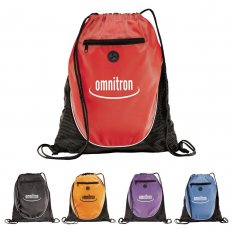 The Peek Drawstring Cinch Backpack