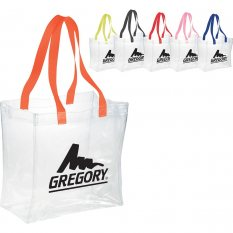 Rally Clear Stadium Tote Bag