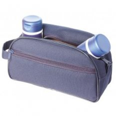 Solid Colour Cosmetic Toiletry Bag