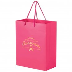 Gloss Laminated Bag Large With Rope Handle