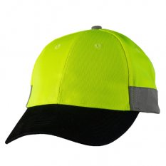 Hi Vis Cap with 3M reflective tape
