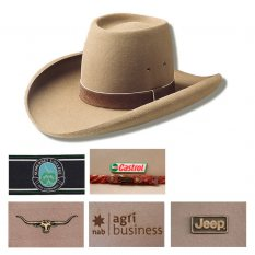 Sombrero Open Crown Akubra Hat