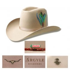Woomera Open Crown Akubra Hat