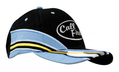 Brushed Heavy Cotton Cap with Inserts